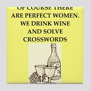 crossword Tile Coaster