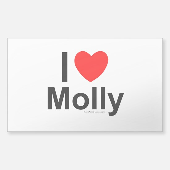Molly Sticker (Rectangle)