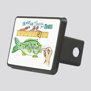 How to Measure your Bass Rectangular Hitch Cover
