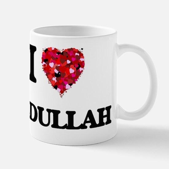 I Love Abdullah Mug