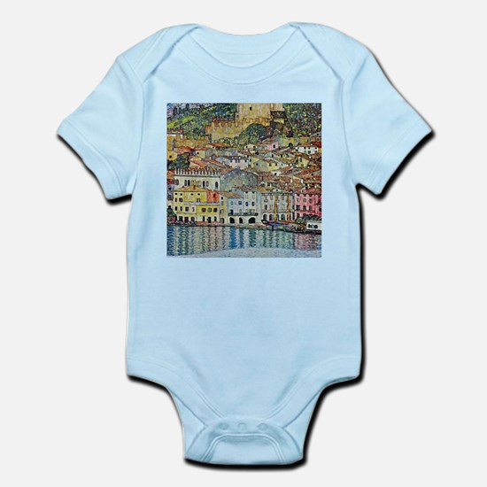 Malcesine on Lake Garda by Gustav Klimt Body Suit