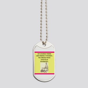 mahjong Dog Tags