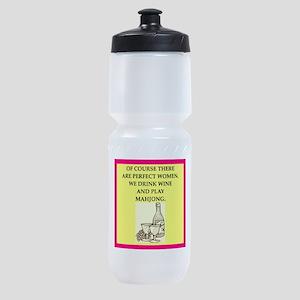 mahjong Sports Bottle