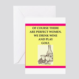 golf Greeting Cards