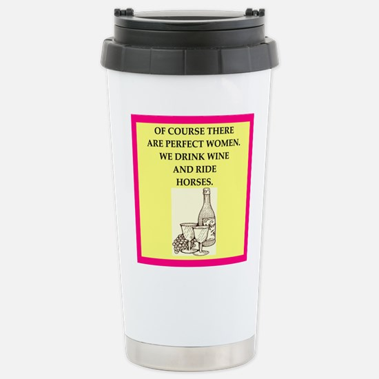 equestrian Travel Mug