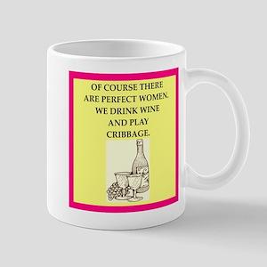 perfect women drink wine Mugs
