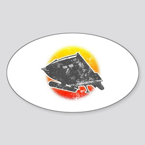 Galileo 7 Shuttlecraft Sticker (Oval)