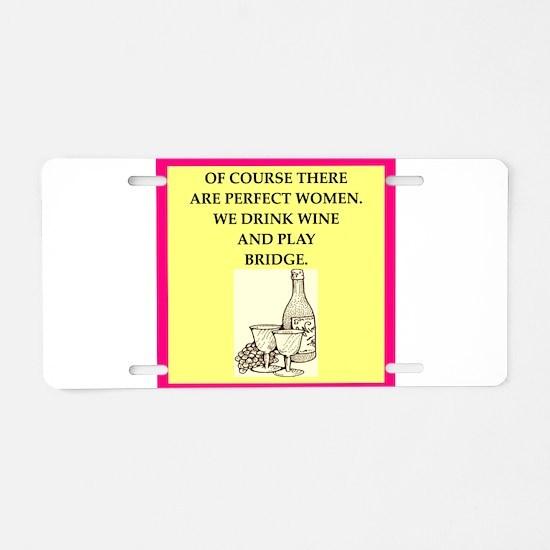 bridge Aluminum License Plate
