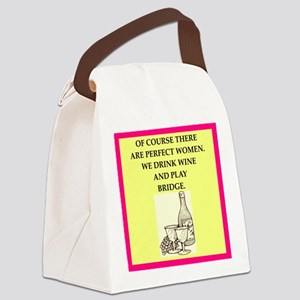 bridge Canvas Lunch Bag