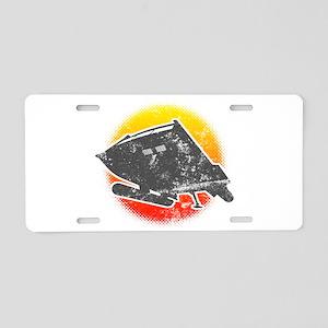 Galileo 7 Aluminum License Plate