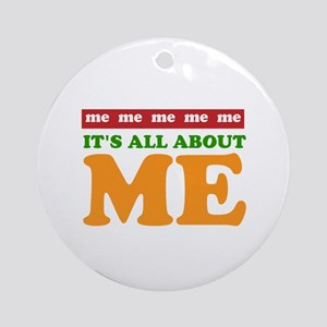 All About Me Ornament (Round)