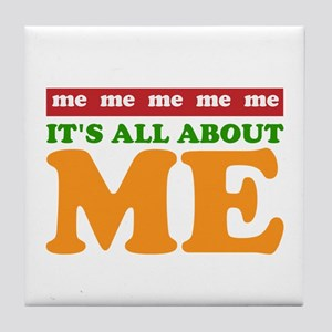 All About Me Tile Coaster