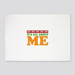 All About Me 5'x7'Area Rug