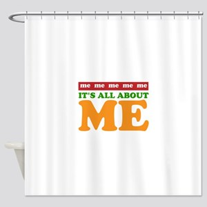 All About Me Shower Curtain
