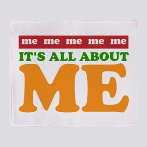 All About Me Throw Blanket