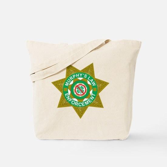Funny Murphys law Tote Bag