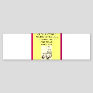 mysteries Bumper Sticker