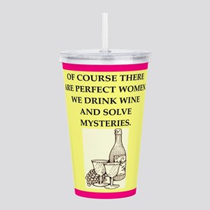 mysteries Acrylic Double-wall Tumbler