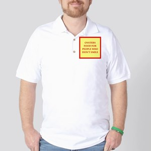 oysters Golf Shirt