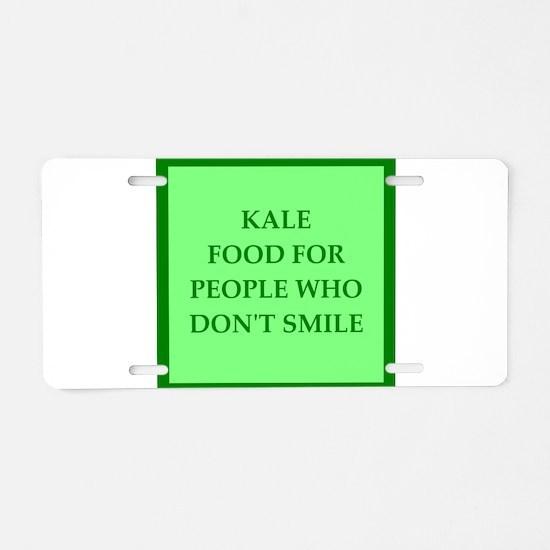 kale Aluminum License Plate