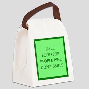 kale Canvas Lunch Bag