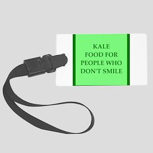 kale Luggage Tag