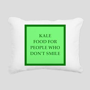 kale Rectangular Canvas Pillow