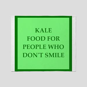 kale Throw Blanket