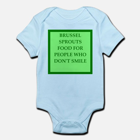 brussle sprouts Body Suit