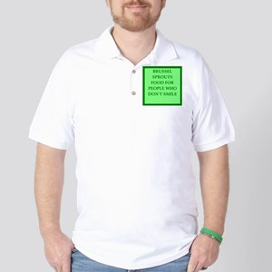brussle sprouts Golf Shirt