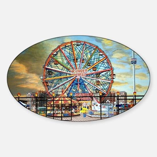 Wonder Wheel Park Decal