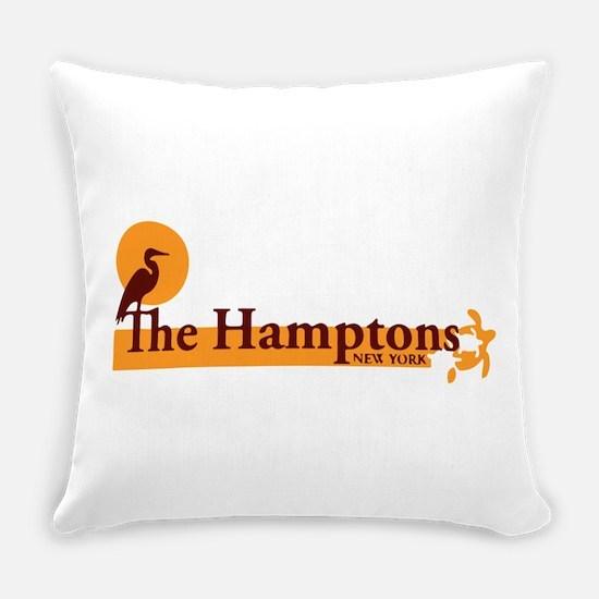 The Hamptons - Long Island Design Everyday Pillow