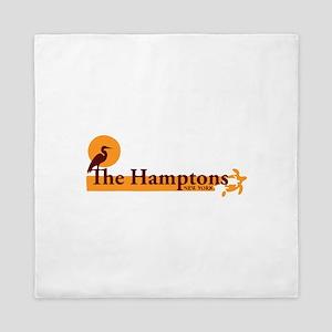 The Hamptons - Long Island Design. Queen Duvet