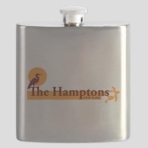 The Hamptons - Long Island Design. Flask