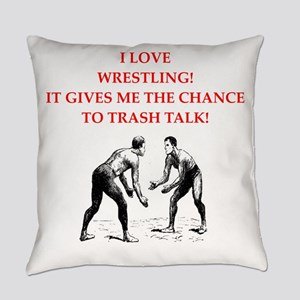 wrestling jokes Everyday Pillow