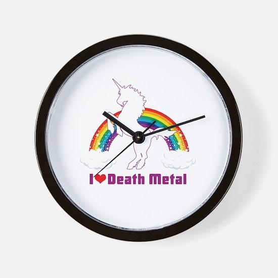 Cute Metal Wall Clock