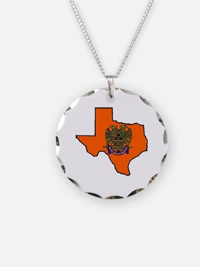 Scottish Rite Texas Burnt Or Necklace