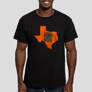 Scottish Rite Texas Bu Men's Fitted T-Shirt (dark)