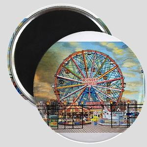 Wonder Wheel Park Magnets