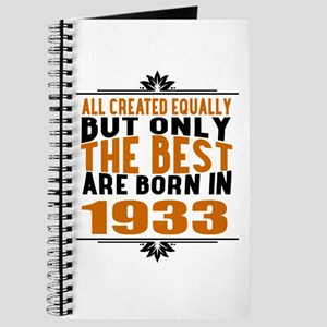 The Best Are Born In 1933 Journal