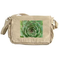 Succulent Messenger Bag