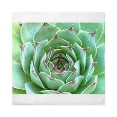 Succulent Queen Duvet