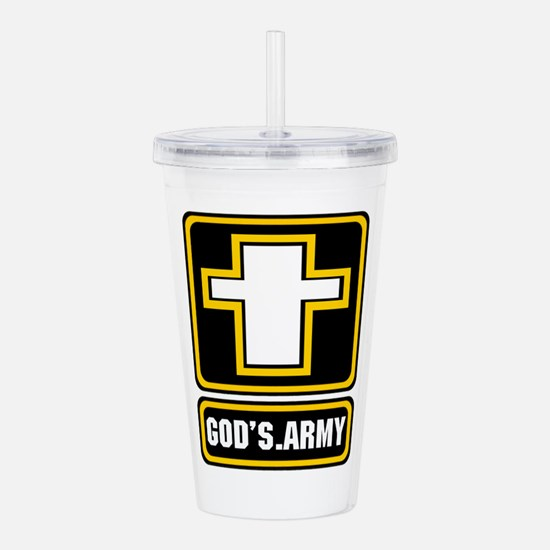 God's Army Acrylic Double-wall Tumbler