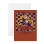 The Knight Greeting Card