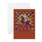 The Knight Greeting Cards (Pk of 20)