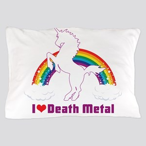 I LOVE DEATH METAL Pillow Case