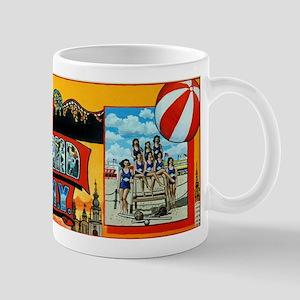 Luna park mugs cafepress greetings from coney island ny mugs m4hsunfo