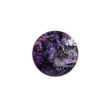 Purple Textures Mini Button