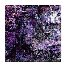 Purple Textures Tile Coaster