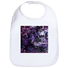 Purple Textures Bib